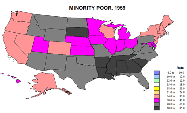 YEARS OF US POVERTY TO Center For Opportunity Urbanism - Us map of deep poverty