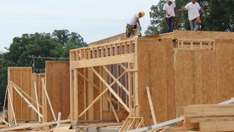 New homes are constructed in Albemarle County, where affordable housing is in short supply for first-time buyers. Costs make it hard for both blue-collar and white-collar workers to experience the benefits of home ownership.