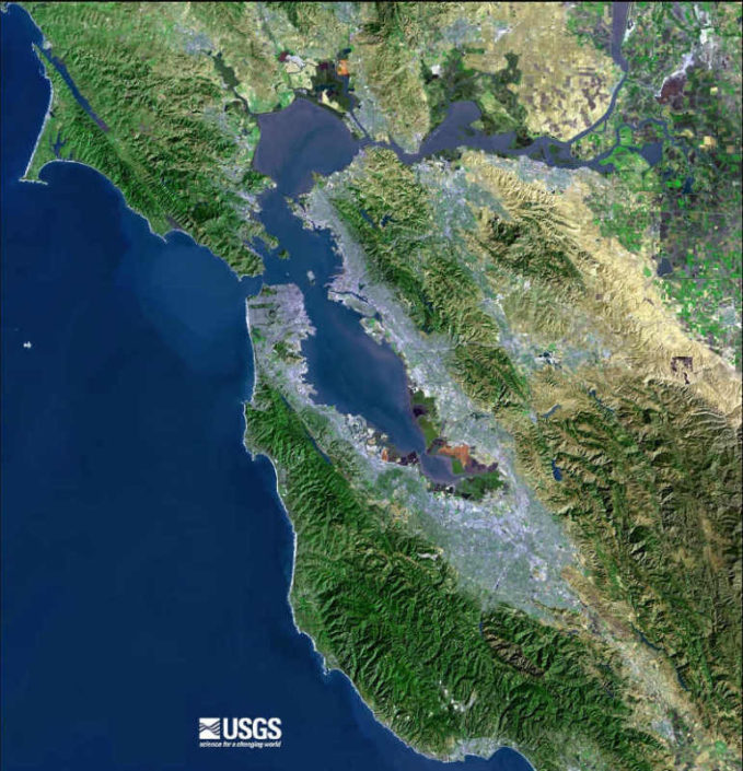 San Francisco Bay Area, USGS