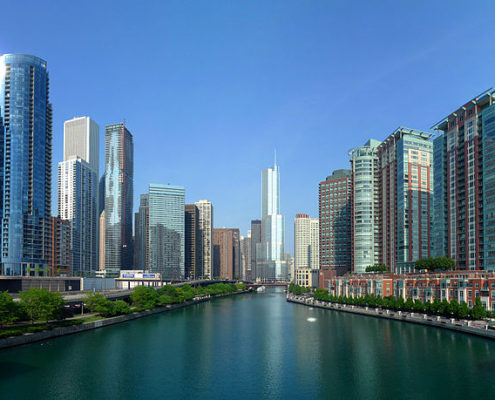 Chicago River, Downtown