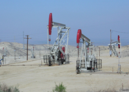Occidental Oil Wells, Elk Hills CA