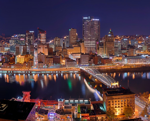 Photo credit: Dllu — Pittsburgh at night
